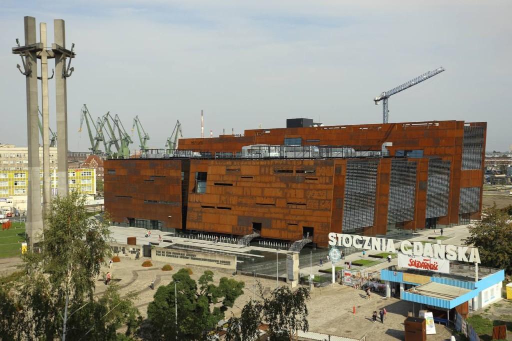 Europejskie Centrum Solidarności Atrakcje Gdańsk AgaTomDom Noclegi Tanio