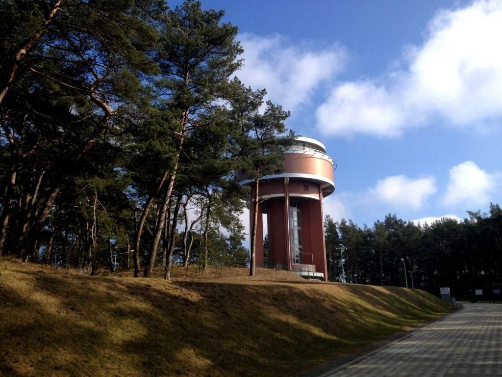 Wieża Ciśnień na Wyspie Sobieszewskiej Atrakcje Gdańsk AgaTomDom Noclegi Tanio