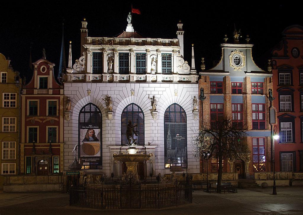 Dwór Artusa Atrakcje Gdańsk AgaTomDom Noclegi Tanio