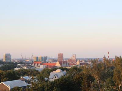 AgaTomDom widok na Stare Miasto Gdańsk